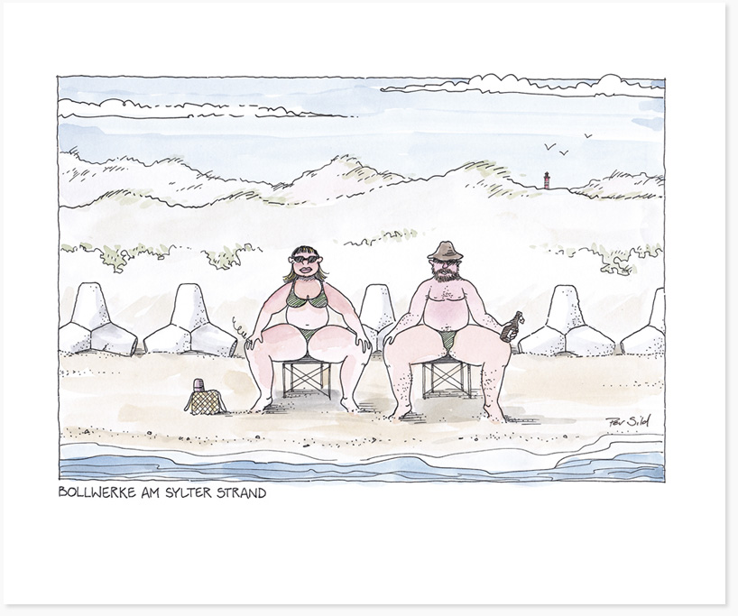 Sylt-Cartoon